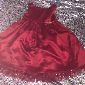 3t Ruby Red Party Dress